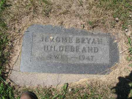 HILDEBRAND 557, JEROME BRYAN - LaMoure County, North Dakota | JEROME BRYAN HILDEBRAND 557 - North Dakota Gravestone Photos