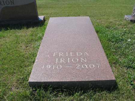 IRION 047, FRIEDA - LaMoure County, North Dakota | FRIEDA IRION 047 - North Dakota Gravestone Photos