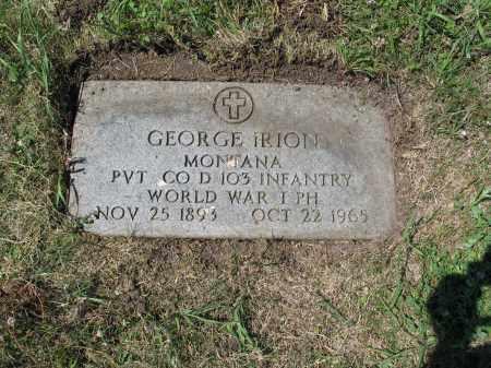 IRION 497, GEORGE - LaMoure County, North Dakota | GEORGE IRION 497 - North Dakota Gravestone Photos