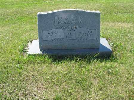 ISAAK 070, WILLIAM G. - LaMoure County, North Dakota | WILLIAM G. ISAAK 070 - North Dakota Gravestone Photos