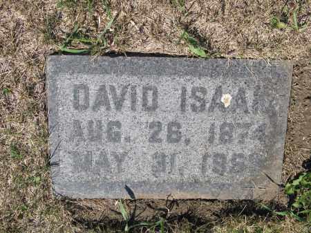 ISAAK 350, DAVID - LaMoure County, North Dakota | DAVID ISAAK 350 - North Dakota Gravestone Photos
