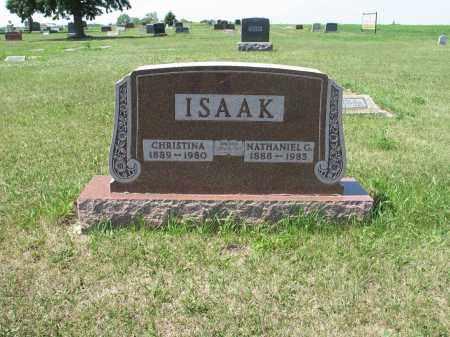 ISAAK 529, CHRISTINA - LaMoure County, North Dakota | CHRISTINA ISAAK 529 - North Dakota Gravestone Photos