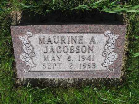 JACOBSON 014, MAURINE A. - LaMoure County, North Dakota   MAURINE A. JACOBSON 014 - North Dakota Gravestone Photos