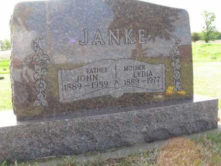 JANKE 031, JOHN - LaMoure County, North Dakota | JOHN JANKE 031 - North Dakota Gravestone Photos