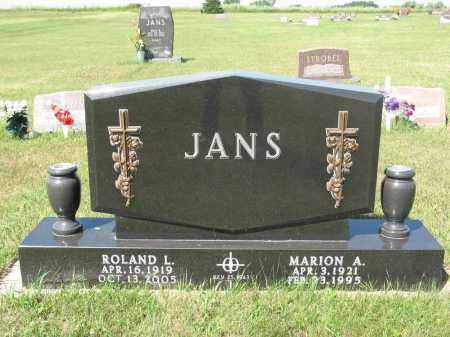 JANS 300, MARION A. - LaMoure County, North Dakota | MARION A. JANS 300 - North Dakota Gravestone Photos