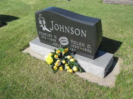 JOHNSON 019, STANLEY N. - LaMoure County, North Dakota | STANLEY N. JOHNSON 019 - North Dakota Gravestone Photos