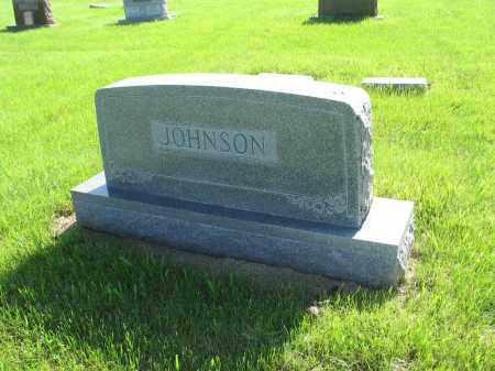 JOHNSON 044, FAMILY (EINAR) MARKER - LaMoure County, North Dakota | FAMILY (EINAR) MARKER JOHNSON 044 - North Dakota Gravestone Photos