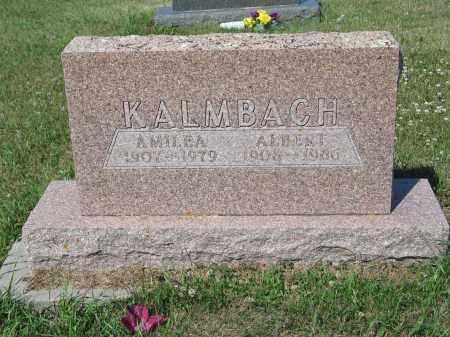 KALMBACH 252, ALBERT - LaMoure County, North Dakota | ALBERT KALMBACH 252 - North Dakota Gravestone Photos