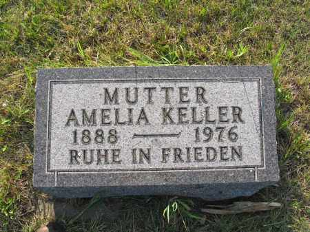 KELLER 038, AMELIA - LaMoure County, North Dakota | AMELIA KELLER 038 - North Dakota Gravestone Photos