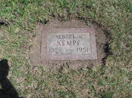 KEMPF 586, ALBERT R. - LaMoure County, North Dakota | ALBERT R. KEMPF 586 - North Dakota Gravestone Photos