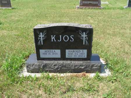 KJOS 534, ADELLA - LaMoure County, North Dakota | ADELLA KJOS 534 - North Dakota Gravestone Photos