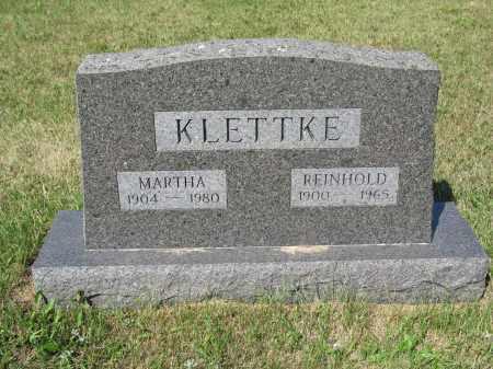 KLETTKE 244, MARTHA M. - LaMoure County, North Dakota | MARTHA M. KLETTKE 244 - North Dakota Gravestone Photos