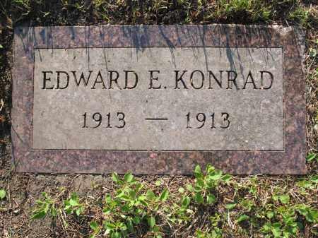 KONRAD 046, EDWARD E. - LaMoure County, North Dakota | EDWARD E. KONRAD 046 - North Dakota Gravestone Photos