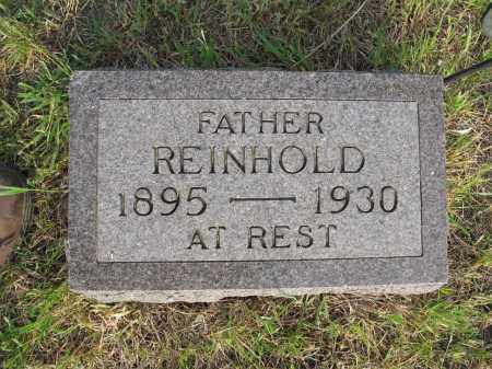KONRAD 053, REINHOLD SR. - LaMoure County, North Dakota | REINHOLD SR. KONRAD 053 - North Dakota Gravestone Photos