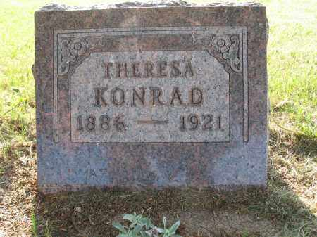 KONRAD 055, THERESA - LaMoure County, North Dakota | THERESA KONRAD 055 - North Dakota Gravestone Photos
