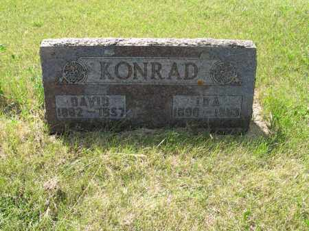 KONRAD 132, DAVID - LaMoure County, North Dakota | DAVID KONRAD 132 - North Dakota Gravestone Photos