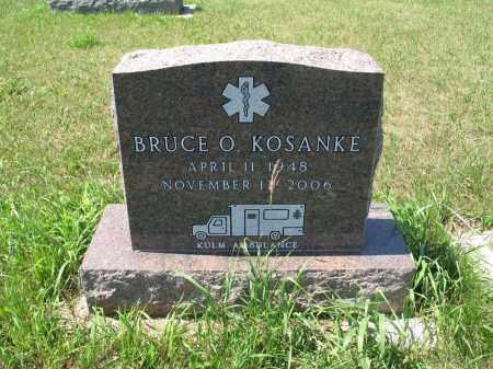 KOSANKE 572, BRUCE OTTO - LaMoure County, North Dakota   BRUCE OTTO KOSANKE 572 - North Dakota Gravestone Photos