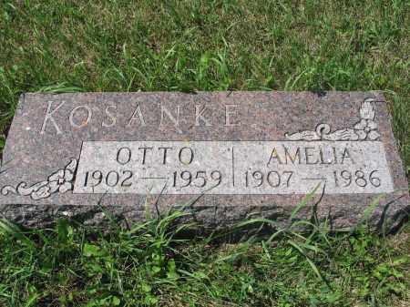 KOSANKE 573, AMELIA OTTILIA - LaMoure County, North Dakota | AMELIA OTTILIA KOSANKE 573 - North Dakota Gravestone Photos