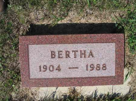 KREIN 265, BERTHA - LaMoure County, North Dakota   BERTHA KREIN 265 - North Dakota Gravestone Photos