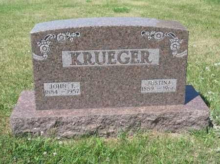 KRUEGER 397, JOHN F. - LaMoure County, North Dakota   JOHN F. KRUEGER 397 - North Dakota Gravestone Photos