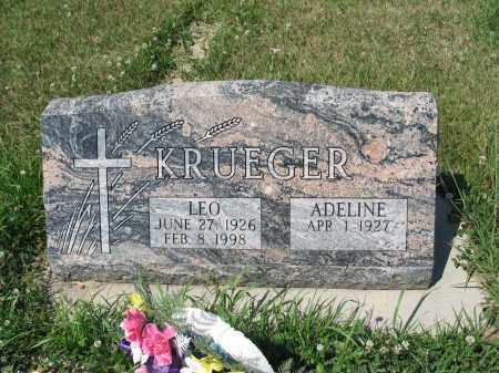 KRUEGER 401, LEO - LaMoure County, North Dakota | LEO KRUEGER 401 - North Dakota Gravestone Photos