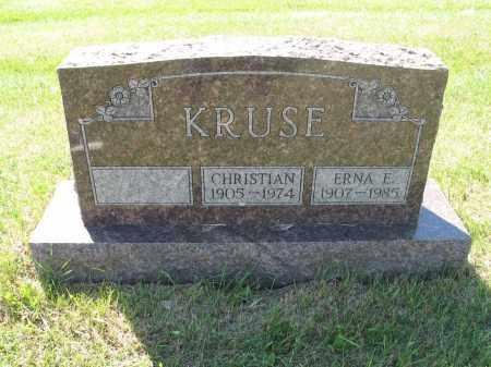 KRUSE 060, CHRISTIAN H. - LaMoure County, North Dakota | CHRISTIAN H. KRUSE 060 - North Dakota Gravestone Photos