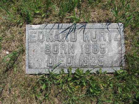 KURTZ 381, EDWARD - LaMoure County, North Dakota | EDWARD KURTZ 381 - North Dakota Gravestone Photos