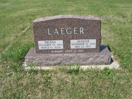 LAEGER 386, HELENA - LaMoure County, North Dakota | HELENA LAEGER 386 - North Dakota Gravestone Photos