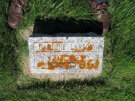 LARSON 004, DARLENE DONNA - LaMoure County, North Dakota | DARLENE DONNA LARSON 004 - North Dakota Gravestone Photos
