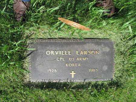 LARSON 005, ORVILLE - LaMoure County, North Dakota   ORVILLE LARSON 005 - North Dakota Gravestone Photos