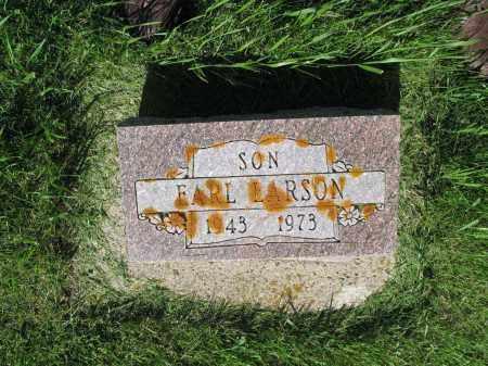 LARSON 006, EARL LOREN - LaMoure County, North Dakota | EARL LOREN LARSON 006 - North Dakota Gravestone Photos