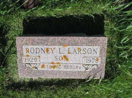 LARSON 007, RODNEY L. - LaMoure County, North Dakota   RODNEY L. LARSON 007 - North Dakota Gravestone Photos