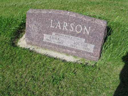 LARSON 009, VICTOR - LaMoure County, North Dakota | VICTOR LARSON 009 - North Dakota Gravestone Photos