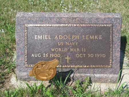 LEMKE 276, EMIEL ADOLPH - LaMoure County, North Dakota | EMIEL ADOLPH LEMKE 276 - North Dakota Gravestone Photos