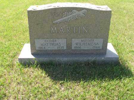 MARTIN 017, MATTHIAS - LaMoure County, North Dakota | MATTHIAS MARTIN 017 - North Dakota Gravestone Photos