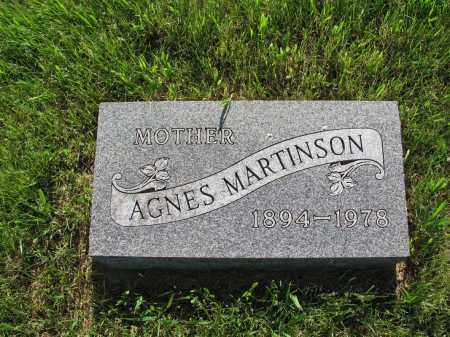 MARTINSON 050, AGNES - LaMoure County, North Dakota | AGNES MARTINSON 050 - North Dakota Gravestone Photos