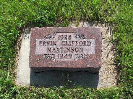 MARTINSON 051, ERVIN CLIFFORD - LaMoure County, North Dakota | ERVIN CLIFFORD MARTINSON 051 - North Dakota Gravestone Photos