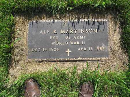MARTINSON 053, ALFRED K. - LaMoure County, North Dakota   ALFRED K. MARTINSON 053 - North Dakota Gravestone Photos