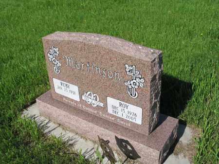 DAVIS MARTINSON 062, RUBY - LaMoure County, North Dakota | RUBY DAVIS MARTINSON 062 - North Dakota Gravestone Photos