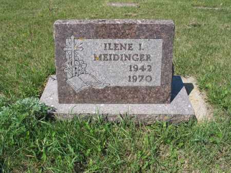 MEIDINGER 429, ILENE I. - LaMoure County, North Dakota   ILENE I. MEIDINGER 429 - North Dakota Gravestone Photos