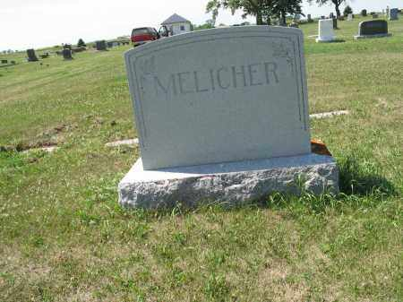MELICHER 598, FAMILY (JOSEPH) MARKER - LaMoure County, North Dakota   FAMILY (JOSEPH) MARKER MELICHER 598 - North Dakota Gravestone Photos