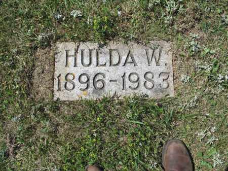 MELICHER 600, HULDA W. - LaMoure County, North Dakota | HULDA W. MELICHER 600 - North Dakota Gravestone Photos