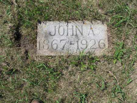 MELICHER 601, JOHN A. - LaMoure County, North Dakota | JOHN A. MELICHER 601 - North Dakota Gravestone Photos