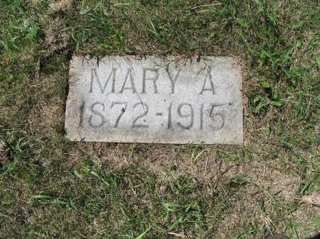 MELICHER 602, MARY A. - LaMoure County, North Dakota | MARY A. MELICHER 602 - North Dakota Gravestone Photos