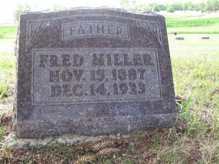 MILLER 059, FRED - LaMoure County, North Dakota | FRED MILLER 059 - North Dakota Gravestone Photos