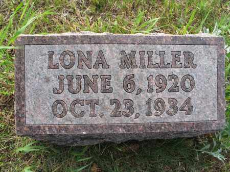 MILLER 060, LONA - LaMoure County, North Dakota | LONA MILLER 060 - North Dakota Gravestone Photos