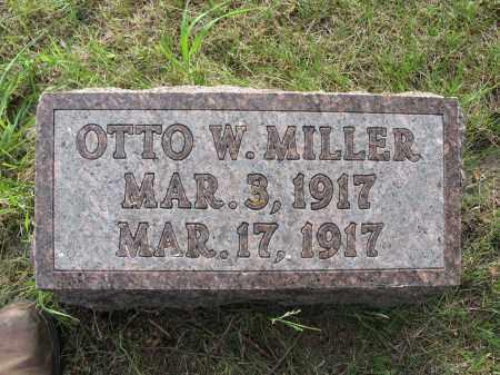 MILLER 061, OTTO W. - LaMoure County, North Dakota | OTTO W. MILLER 061 - North Dakota Gravestone Photos
