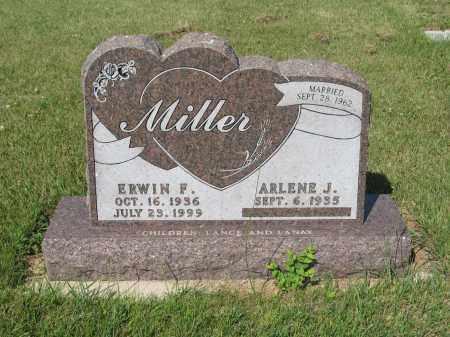 MILLER 222, ERWIN F. - LaMoure County, North Dakota | ERWIN F. MILLER 222 - North Dakota Gravestone Photos