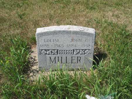 MILLER 563, LOUISE - LaMoure County, North Dakota | LOUISE MILLER 563 - North Dakota Gravestone Photos