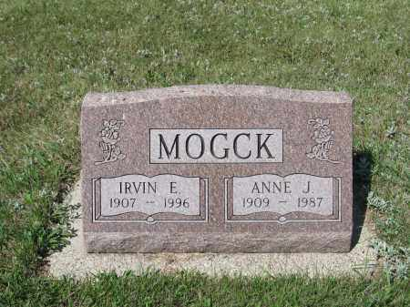 MOGCK 338, ANNE JENSINE - LaMoure County, North Dakota | ANNE JENSINE MOGCK 338 - North Dakota Gravestone Photos